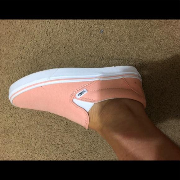 kody promocyjne najlepsze buty jakość Salmon pink, women's 7.5, slip on vans